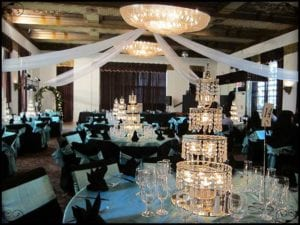 Crystal Marquis Wedding Reception Ball Room