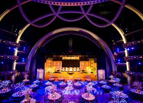 dolby kodak theatre hollywood wedding