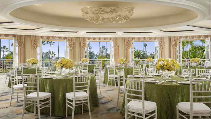 beverly hills hotel wedding ballroom