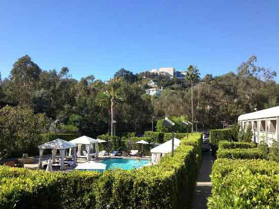 Beverly Hills Wedding Officiant for Luxe Hotel on Sunset Blvd