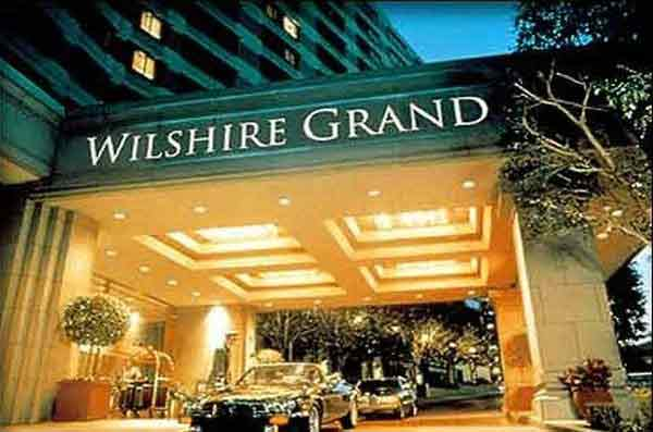 wilshire grand hotel los angeles