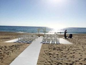 Shutters on the Beach for Santa Monica Weddings