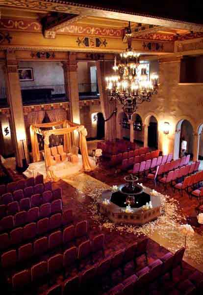 Hollywood Roosevelt Hotel Hollywood Wedding Venue