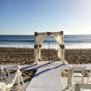 A beach wedding in Santa Monica at Shutters on the Beach