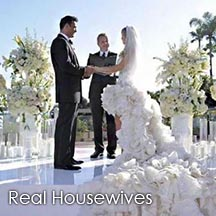 Officiant Guy, Chris Robinson, was The Real Housewives of Miami non denominational wedding minister in Season 3 for Joana Krupa and Romain Zago.