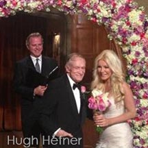 wedding officiant for hugh hefner in Los Angeles
