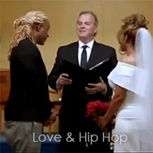 Love and Hip Hop officiant