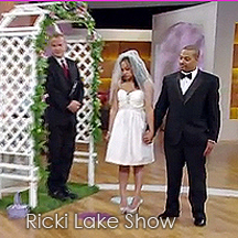 officiants on the Ricki Lake show