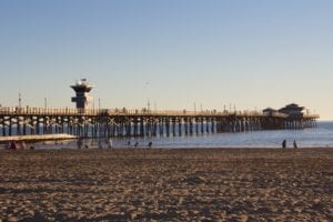 Seal Beach Pier - Orange County Wedding Officiant at Top 10 Great Locations